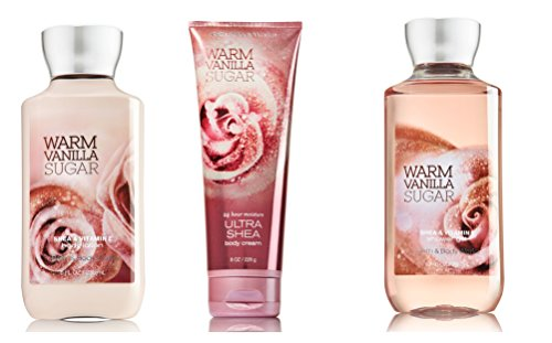 Bath & Body Works Warm Vanilla Sugar Gift Set Body Coconut Vanilla Bath