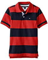 Tommy Hilfiger Little Boys' Short-Sleeve Calum-Stripe Pique Polo