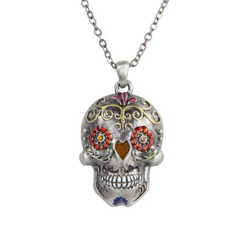 the-day-of-the-dead-flower-sugar-skulls-necklace-jewelry
