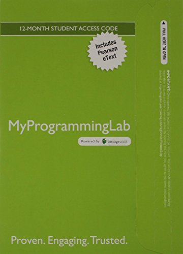 Student Value Edition for the Practice of Computing Using Python Plus Myprogramminglab with Pearson Etext -- Access Card Package