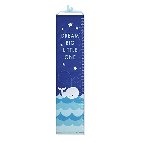 DEMDACO Whale Growth Chart with Stickers