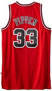 NBA Chicago Bulls Scottie Pippen Swingman Jersey, Red by adidas
