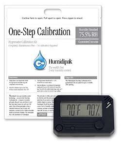 HygroSet Digital Hygrometer w/ Calibrating Kit