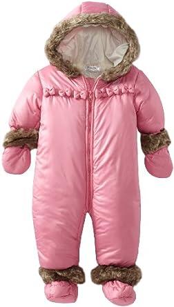 Amazon.com: ABSORBA Baby-Girls Newborn L Snowsuit, Light