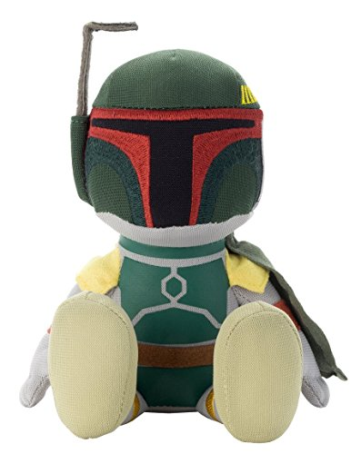 Japan Disney Official Star Wars the Force Awakens - Boba Fett Green Grey Mascot Soft Plush Stuffed Toy Cushion Kids Doll Bean Bag Plushie House Table Decor Accessory Takara Tomy Arts