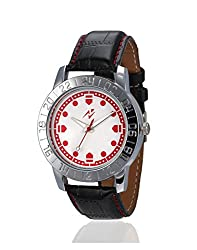 Yepme Frazo Mens Watch - White/Black -- YPMWATCH1314