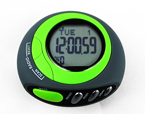 SMARTFLY Auto Scan FM Radio Pedometer With 7 Days Memory