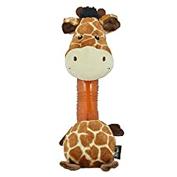 Heads Up For Tails Giraffe Plush Dog Toy