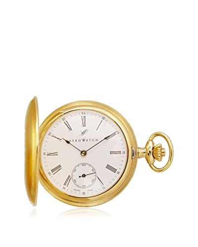 Aerowatch Men's 1098-B Automatic Roman Dial Pocket Watch