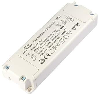 Transmedia LT2-2L Ampoule Halogène Transformer 230 12 V 105 W