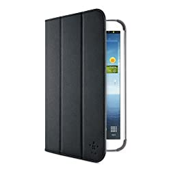 Belkin Smooth Tri-Fold Cover with Stand for 8-Inch Samsung Galaxy Tab 3 - Black (F7P135ttC00)