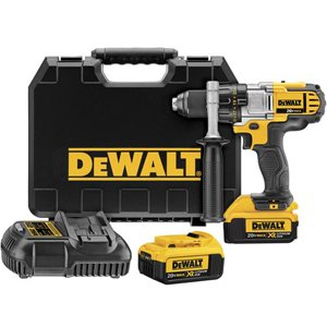 DEWALT DCD980M2 20V MAX Cordless Lithium-Ion 1/2-in Premium 3-Speed Drill Driver Kit with 4.0 Ah Batteries