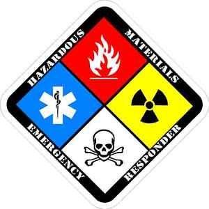HAZMAT Specialist decal Haz Mat firefighter rescue decal sticker (Hazmat Decals compare prices)
