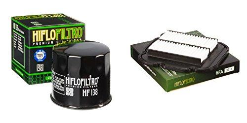 Oil and Air Filter Kit for SUZUKI DL650 A-L0,L1,L2,L3,L4,L5,L6 V-Strom ABS 10-16 HIFLO FILTRO