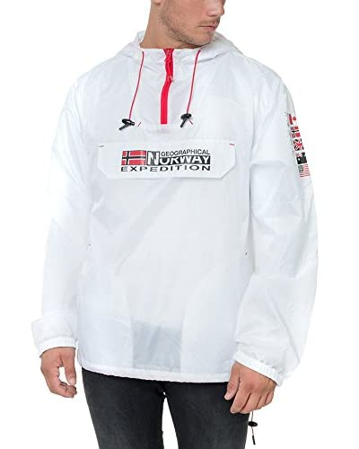 Geographical Norway Giacca Impermeabile Boogee [Bianco]