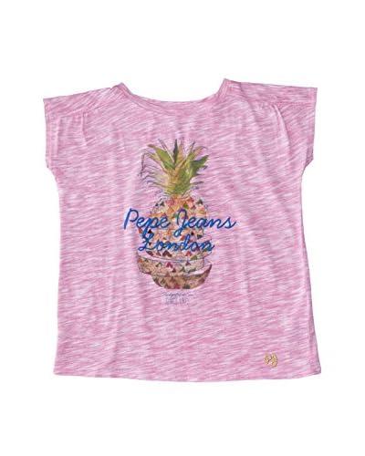 Pepe Jeans London T-Shirt Manica Corta Chelsea [Rosa]