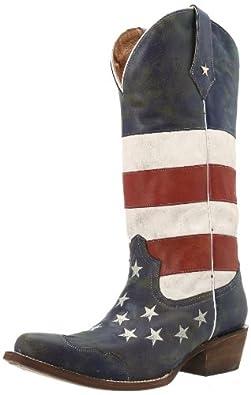 Roper Ladies American Flag Boot by Roper