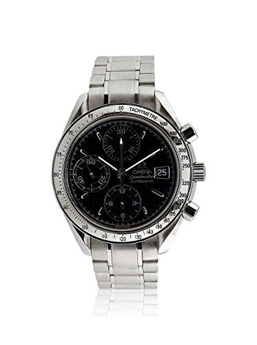 Omega Men's Pre-Owned Speedmaster Black/Stainless Steel Watch
