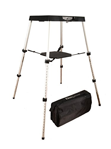 Visual-Apex-Portable-Projector-Table-Stand-with-Projector-Carry-Bag