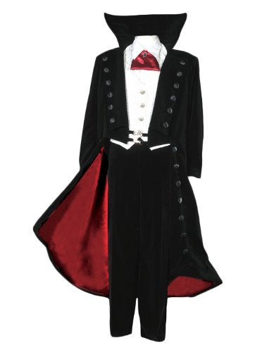 Men's Deluxe Count Dracula Vampire Theatrical Quality Costume