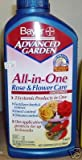 Bayer 701260B 32-Ounce All in One Rose and Flower Care Concentrate