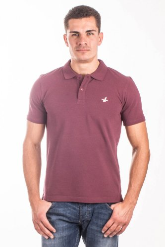 Santa Barbara -  Polo  - Polo  - Uomo bordeaux 52