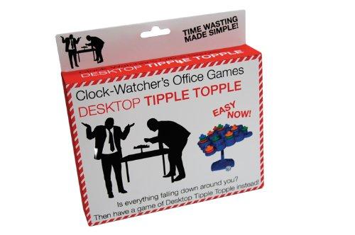 Clockwatchers Desktop Tipple Topple - 1