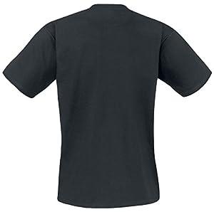 DC COMICS Batman Arkham Knight Red Hood Logo T-Shirt (L, Black)_P