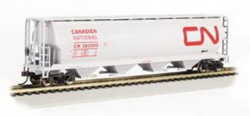 Bachmann Trains Canadian National 4 Bay Cylindrical Grain Hopper