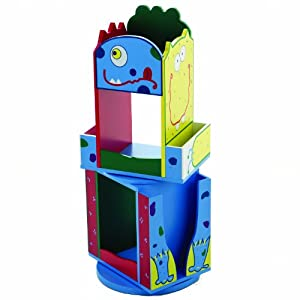 Monster Double Revolving Bookcase from Levels of Discovery