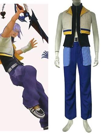 Kingdom Hearts II Riku Cosplay Costume