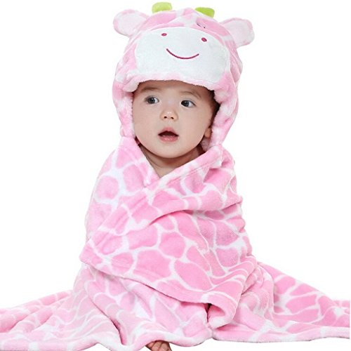 dingang-kids-baby-bath-towels-cute-giraffe-hooded-ultra-soft-flannel-bathing-wrap-blanket0-6-years-o