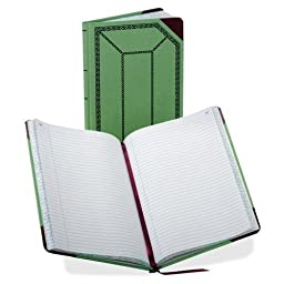 Boorum & Pease Account Book, Record-Ruled, 150 Pages, 7-5/8\