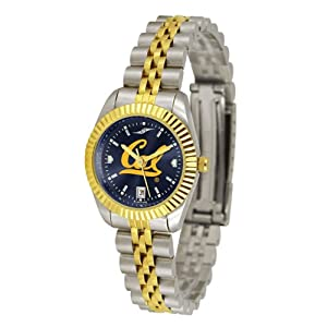 California Golden Bears NCAA AnoChrome Executive Ladies Watch by SunTime