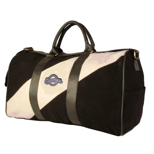Pangea Vintage Canvas Duffles - Milwaukee Brewers at Amazon.com