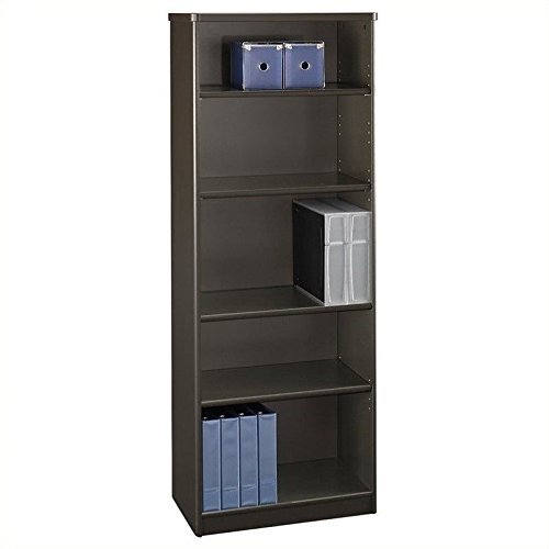Five Shelf Bookcase w Adjustable Shelves - Series A Collection 60