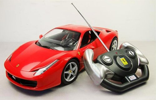 1:14 Ferrari 458 Italia Remote Control Car R/c Car Model 47300-red (Ships By Expedite)