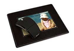 HandStands Photo Mouse Pad -Black Pebble