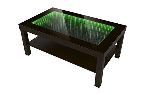 Modern Couchtisch Glastisch Beistelltisch Tiefeneffekt