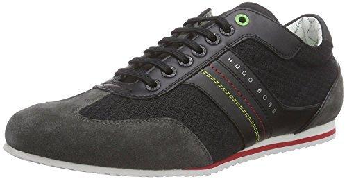 Hugo Boss Scarpe Sneaklers VICTOV Nero, Boss etichetta verde, nero (Black), 44 EU
