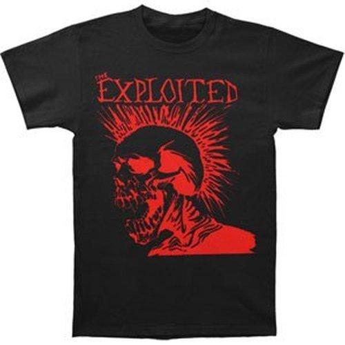 The Exploited - Let's Start a War T-Shirt (Medium) Nero