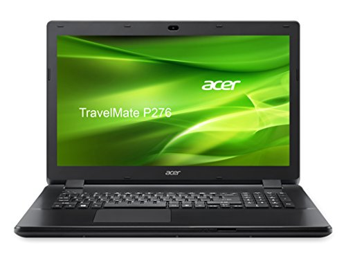 Acer TravelMate P276 P276-M-522S 43,3 cm (17,3 Zoll HD+) Notebook (Intel Core i5-4210U, 4GB RAM, 500GB HDD, DVD, Intel HD Graphics, kein Betriebssystem) schwarz