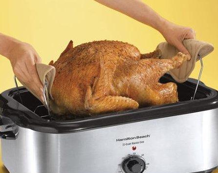 Chicken Roaster-Hamilton Beach 22-Quart Roaster Oven