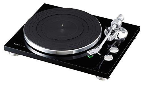 TEAC analog Plattenspieler TN-300-B schwarz mit Phono-Verstärker und USB