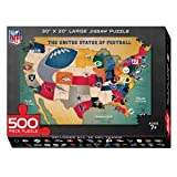 National Football Nfl Usa Map Puzzle