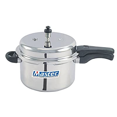 Master Aluminium Outerlid Pressure Cooker, 3 Litre, 1 piece,Silver Color