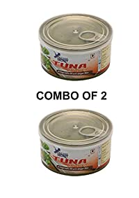 oceans secret tuna in vegetable oil with ginger slice combo of 2(180g each)