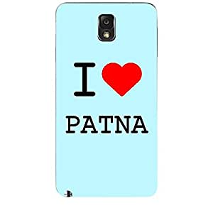 Skin4gadgets I love Patna Colour - Light Blue Phone Skin for SAMSUNG GALAXY NOTE 3