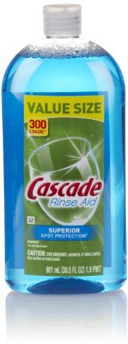 Cascade Dishwasher Rinse Aid, 30.5 Fl Oz