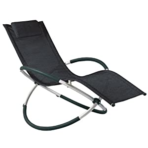 Saturn Rocker Outdoor Garden Chair       reviews and more info